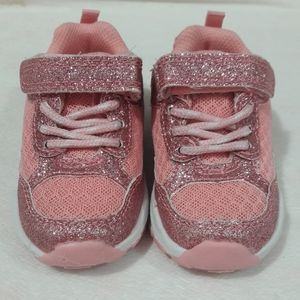 Toddler sparkly sneakers
